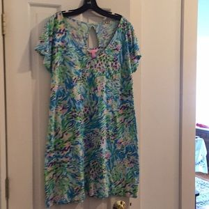 Lilly pulitzer dress. Small Pima cotton.